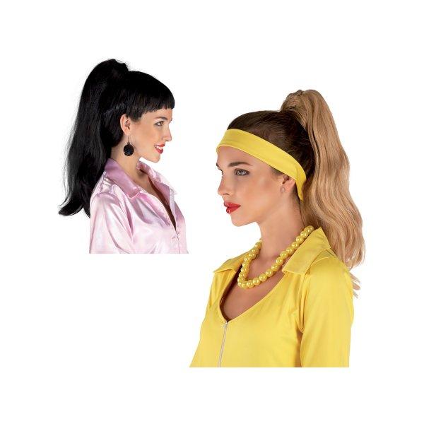 Αποκριάτικη Περούκα Postiche (2 Χρώματα)