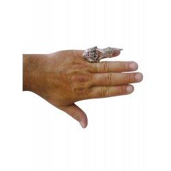 Αποκριάτικο Αξεσουάρ Δαχτυλίδι Πανκ