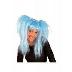 Αποκριάτικο Αξεσουάρ Περούκα Lollipop Γαλάζια