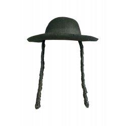 Αποκριάτικο Αξεσουάρ Καπέλο Ραβίνου