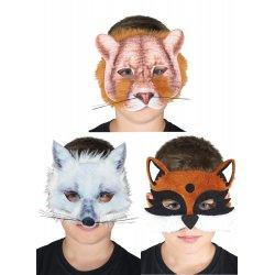 Αποκριάτικη Μάσκα Άγρια Ζώα - 3 Σχέδια