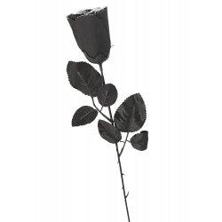 Αποκριάτικο Αξεσουάρ Τριαντάφυλλο Μαύρο