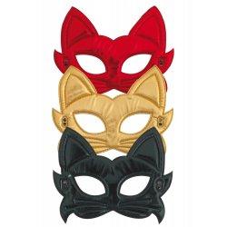 Αποκριάτικες Μάσκες Ματιών Γάτας (3 Χρώματα)