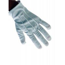 Αποκριάτικο Αξεσουάρ Γάντια Κόντα  Ασπρα