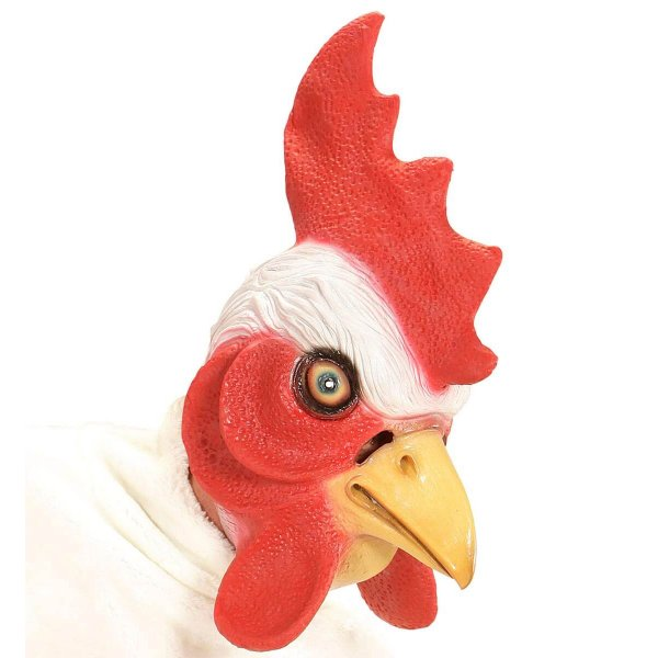 Αποκριάτικη Μάσκα Latex Κοτόπουλο