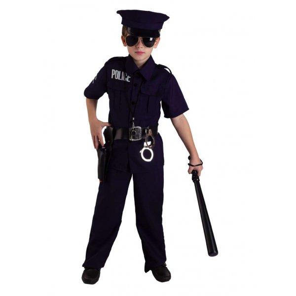 Αποκριάτικη Στολή Αστυνομικός με Μαύρη Ζώνη
