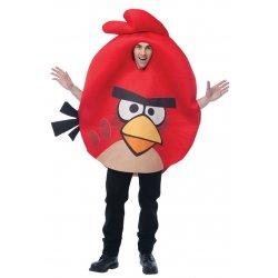 Αποκριάτικη Στολή Angry κόκκινο Angry Bird