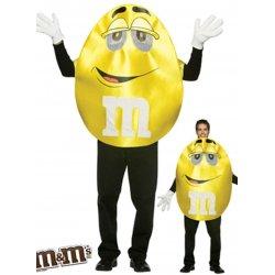 Αποκριάτικη Στολή M&M Κίτρινο