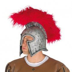 Αποκριάτικο Αξεσουάρ Καπέλο Περικεφαλαία Latex
