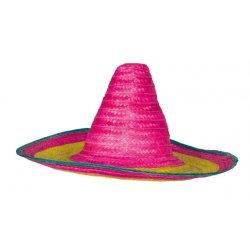 Αποκριάτικο Αξεσουάρ Καπέλο Μεξικάνου Ψάθα