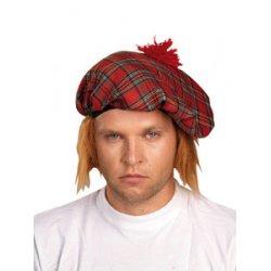 Αποκριάτικο Αξεσουάρ Καπέλο Σκωτσέζου Καρό