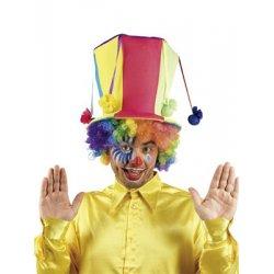 Αποκριάτικο Αξεσουάρ Καπέλο Ημίψηλο Πολύχρωμο