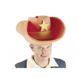 Αποκριάτικο Αξεσουάρ Καπέλο Giant Foam Cowboy