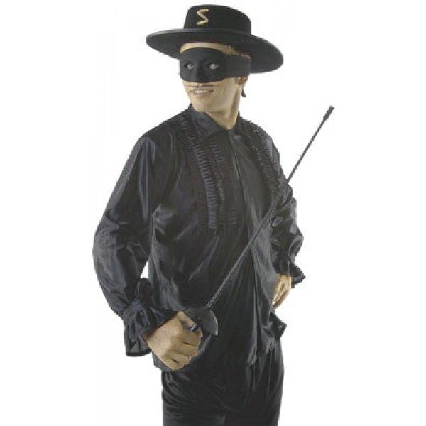 Αποκριάτικο Αξεσουάρ Καπέλο Ζορρό Τσόχινο