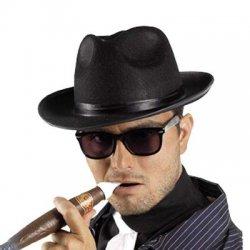 Αποκριάτικο Αξεσουάρ Καπέλο Μαφίας, Τσόχινο
