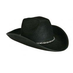 Αποκριάτικο Αξεσουάρ Καπέλο Σερίφη Μαύρο