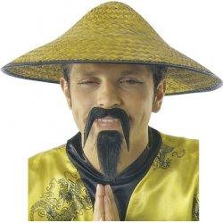 Αποκριάτικο Αξεσουάρ Καπέλο Κινέζου Ψάθινο