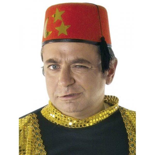 Αποκριάτικο Αξεσουάρ Καπέλο Φέσι Τούρκου, Κόκκινο