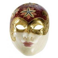 Αποκριάτικη Μάσκα Paper Mache Γυναίκα 2
