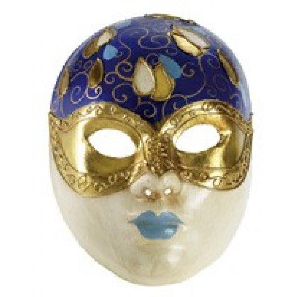 Αποκριάτικη Μάσκα Paper Mache Γυναίκα