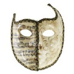 Αποκριάτικη Μάσκα Βεν Paper Mache Πατίνι 2