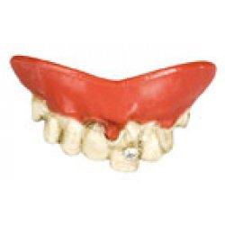 Αποκριάτικα Αστεία Δόντια, Χαλασμένα με Διαμαντάκι
