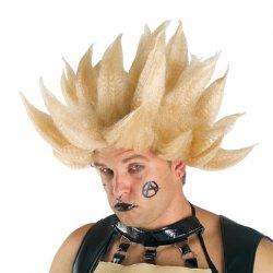 Αποκριάτικη Περούκα Super Gel Καρφάκια Ξανθιά