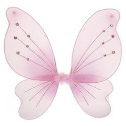 Αποκριάτικο Αξεσουάρ Φτερά Πεταλούδας Ροζ