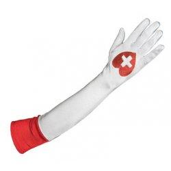 Αποκριάτικα Γάντια Νοσοκόμας