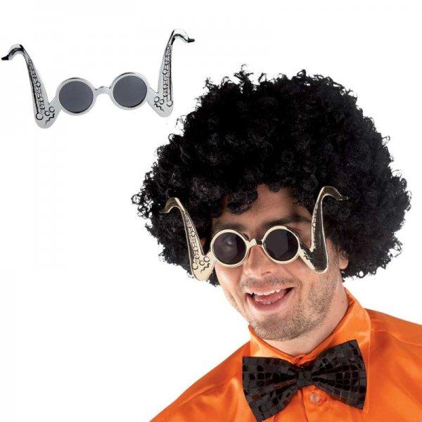 Αποκριάτικα Γυαλιά Σαξόφωνο (2 Χρώματα)