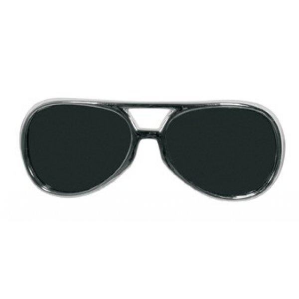 Αποκριάτικα Γυαλιά Ροκ Σταρ Ασημί