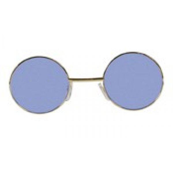 Αποκριάτικα Γυαλιά Χίπης Μπλε