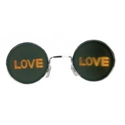 Αποκριάτικα Γυαλιά Λέιζερ LOVE