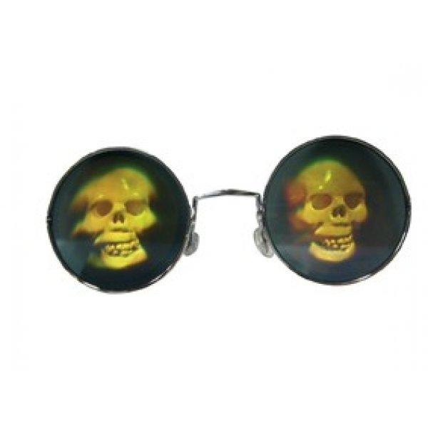 Αποκριάτικα Γυαλιά Λέιζερ Κρανίο