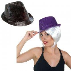 Αποκριάτικο Αξεσουάρ Καπέλο με Πούλιες