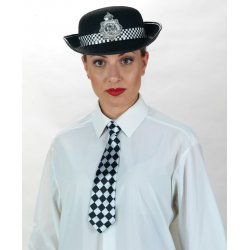 Αποκριάτικο Αξεσουάρ Γυναικείο Καπέλο Αγγλίδας Αστυνομικίνας