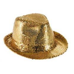Αποκριάτικο Αξεσουάρ Γυναικείο Καπέλο Καβουράκι Χρυσό