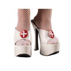 Αποκριάτικο Αξεσουάρ Κλιπ Παπουτσιών Νοσοκόμας Πλαστικά