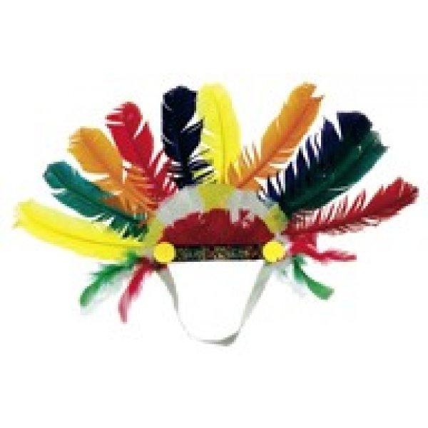 Αποκριάτικα Φτερά Ινδιάνου Μικρά Άκαυστα