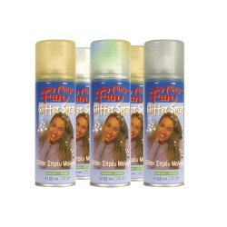 Αποκριάτικο Σπρέι Βαφής Μαλλιών Glitter