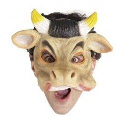 Αποκριάτικη Μάσκα Λατέξ Αγελάδα