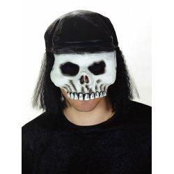 Αποκριάτικη Μάσκα Latex Σκελετός
