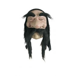 Αποκριάτικη Μάσκα Latex Μικροί Νάνοι (Μαύρα Μαλλιά)