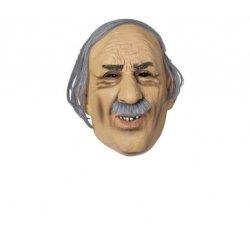 Αποκριάτικη Μάσκα Λατέξ Γέρου 5