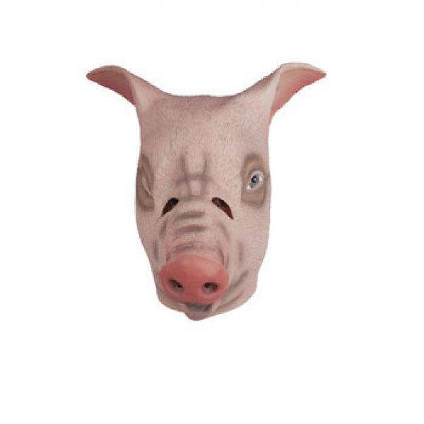 Αποκριάτικη Μάσκα Latex Γουρούνι