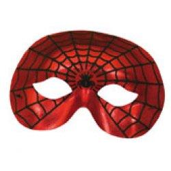 Αποκριάτικη Μάσκα Ματιών Άνθρωπος Αράχνη