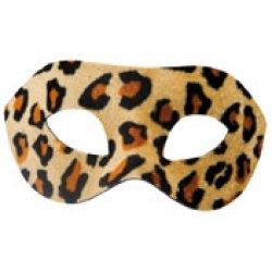 Αποκριάτικη Μάσκα Ματιών Animal Print 2