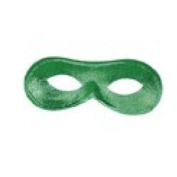 Αποκριάτικη Μάσκα Ματιών Ντόμινο (Πράσινη)