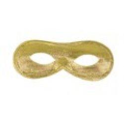 Αποκριάτικη Μάσκα Ματιών Ντόμινο (Χρυσή)