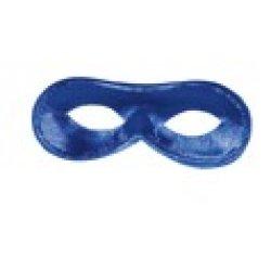 Αποκριάτικη Μάσκα Ματιών Ντόμινο (Μπλε)